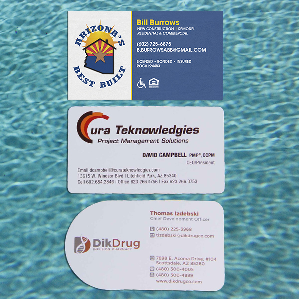 Digital and offset print business cards colourmoves